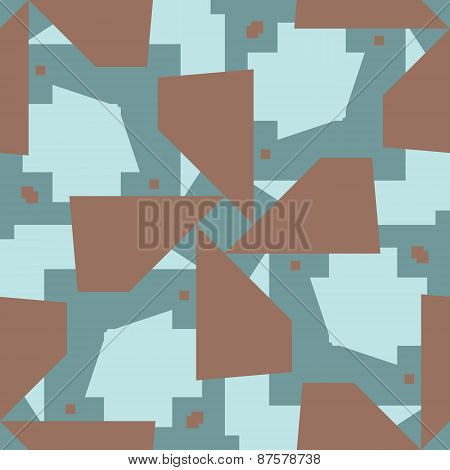 Intersecting Polygons Pattern