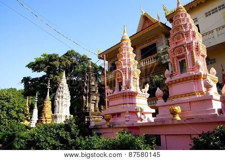 Buddhist  Stupas