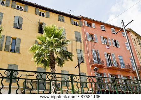 Typical Architecture Of Grasse In Southern France