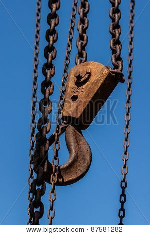 Hook Of A Crane