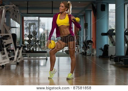 Exercise With Kettle Bell