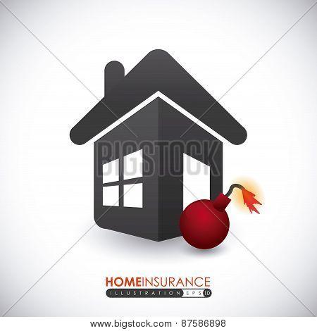 Home Insurance design, vector illustration.