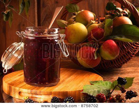 Blackberry & Apple Jam