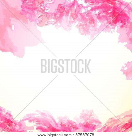 paint colorful splash abstract frame background