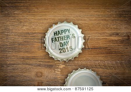 Crown Caps - Happy Fathers Day 2015