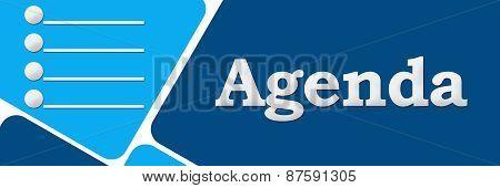 Agenda Two Blue Square