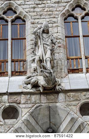 Botines Palace In Leon, Castilla Y Leon