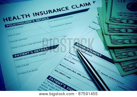 Insurance Reimbursement Concept