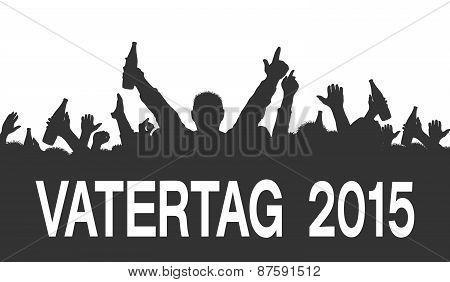 Silhouette - Vatertag 2015