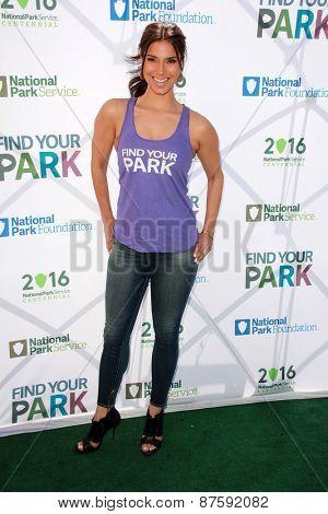 LOS ANGELES - FEB 9:  Roselyn Sanchez at the National Parks Service Announcement at the El Pueblo de Los Angeles Histgoric Monument on April 9, 2015 in Los Angeles, CA