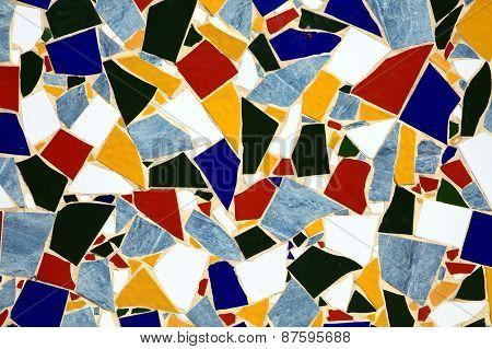 Crazy paving tile background