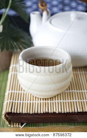 Close Up Tea In Cup