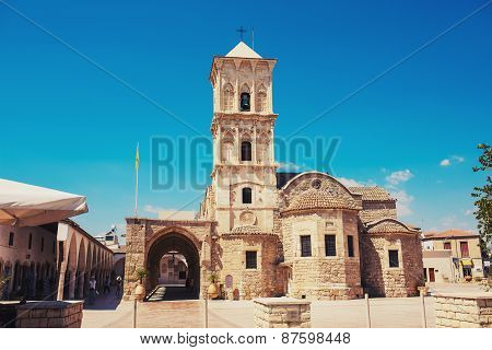 Church of Saint Lazarus Larnaca Cyprus. Greek Orthodox Church.