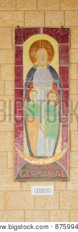 Donated Mosaic - The Church Of Annunciation