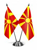 Постер, плакат: Macedonia Miniature Flags