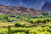 picture of jammu kashmir  - view of Leh ladakh landscape Mulbekh light and shadow Jammu and Kashmir India - JPG