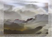 Постер, плакат: Abstract fantastic grey landscape