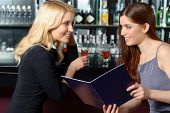 picture of cocktail menu  - Ordering cocktails - JPG