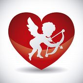 image of cupid  - angel cupid design - JPG