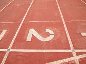 picture of arena  - retro sport running track abstract arena athlete - JPG