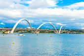 pic of brasilia  - Bridge in Brasilia - JPG