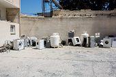 picture of dump  - Appliances dump - JPG