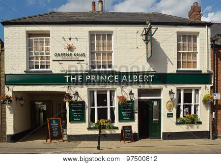 The Prince Albert public house in Ely