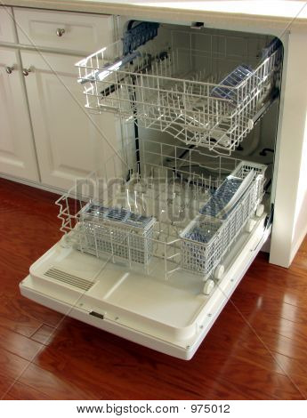 Open House Kitchen Dishwasher
