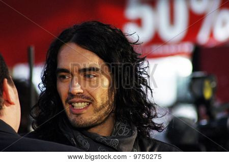 Russell Brand At Despicable Me Premiere In Central London 11 October 2010