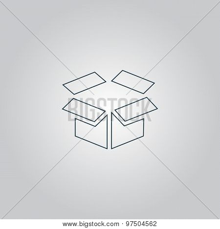 Open box icon