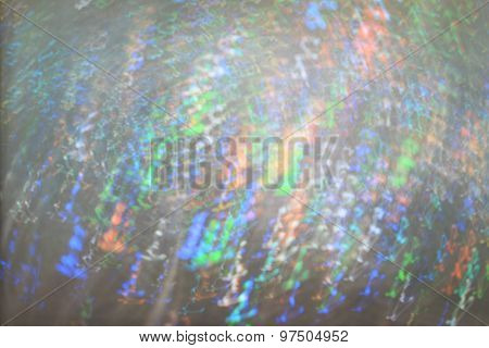 Blurred Bokeh With Colored Lights