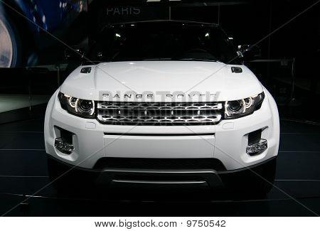 Range Rover Evoque At Paris Motor Show