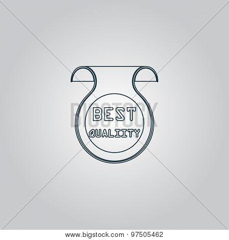 Best Quality Icon, Badge, Label or Sticker