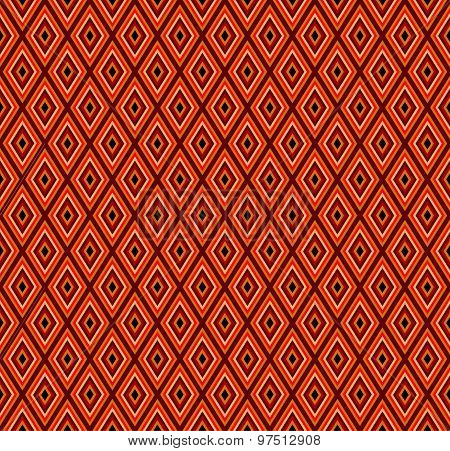 Ethnic Patterns In The Form Of Multi-colored Rhombus.vector.seamless