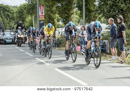 Team Sky - Team Time Trial 2015