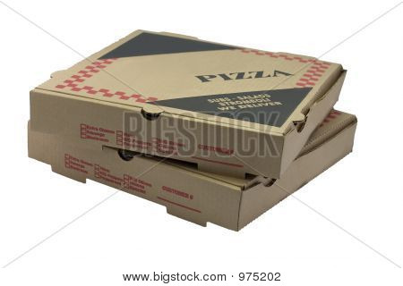 Two Pizza Boxes