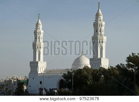 Qiblatain Mosque In Medina, Saudi Arabia