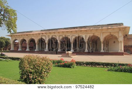 one of palaces in Agra fort