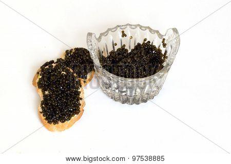 Black Caviar And Sandwiches