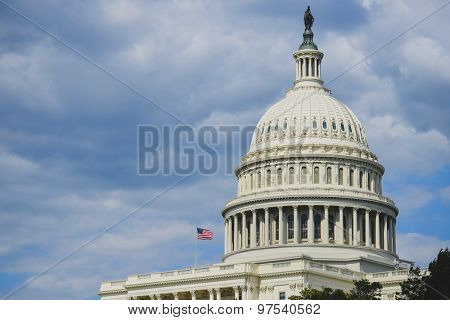US Capitol Building dome  - Washington DC, USA