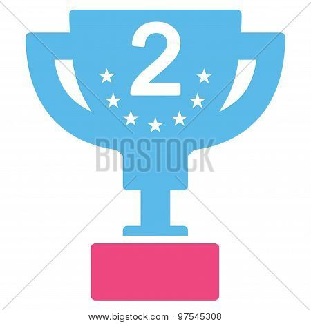 Second prize icon