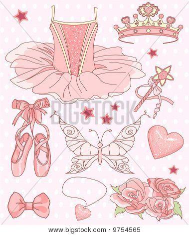 Princess Ballerina Set