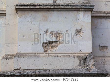 Damage To Brickwork