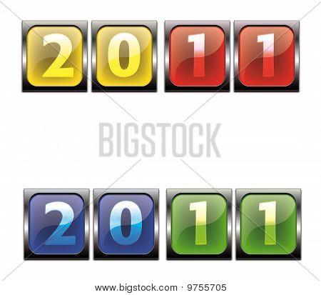 2011  Corful Button