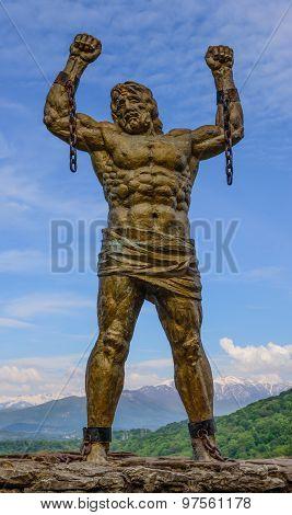 The Sculpture Of Prometheus
