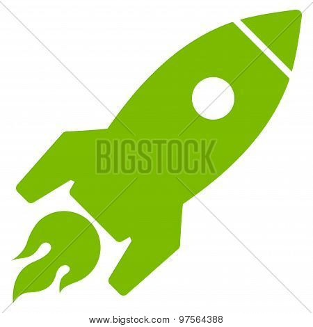 Rocket Launch Icon from Commerce Set