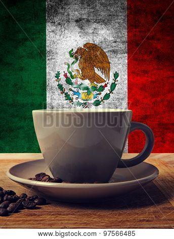 Coffee And Flag