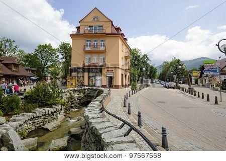 Tenement Built By Franciszek Smeja In Zakopane