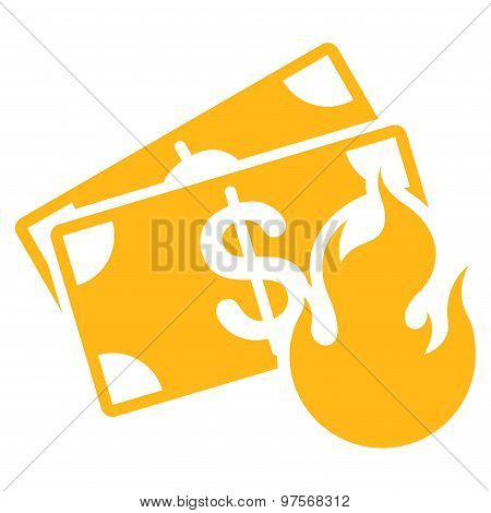 Fire Accident Icon from Commerce Set