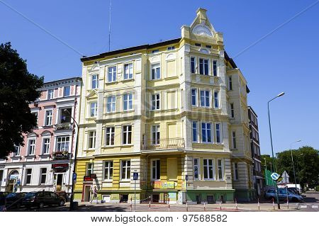 Townhouse In The Style Of Eclecticism In Kolobrzeg